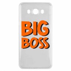 Чехол для Samsung J7 2016 Big Boss