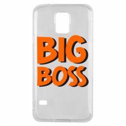 Чехол для Samsung S5 Big Boss