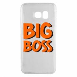 Чехол для Samsung S6 EDGE Big Boss