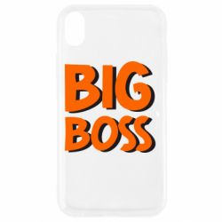 Чехол для iPhone XR Big Boss