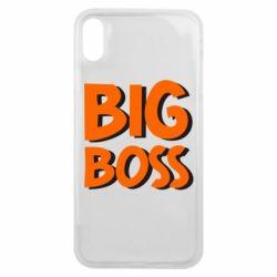 Чехол для iPhone Xs Max Big Boss