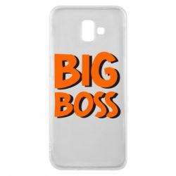 Чехол для Samsung J6 Plus 2018 Big Boss