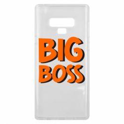 Чехол для Samsung Note 9 Big Boss