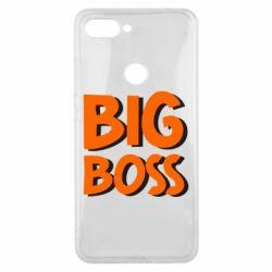 Чехол для Xiaomi Mi8 Lite Big Boss