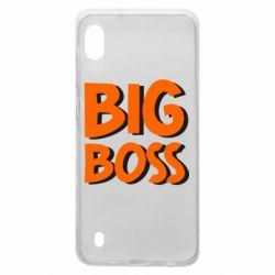Чехол для Samsung A10 Big Boss
