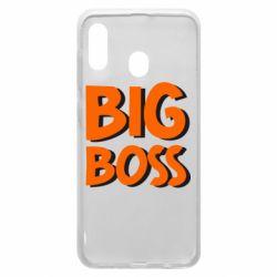 Чехол для Samsung A20 Big Boss