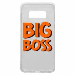 Чехол для Samsung S10e Big Boss