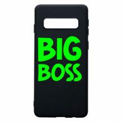 Чехол для Samsung S10 Big Boss
