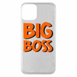 Чехол для iPhone 11 Big Boss