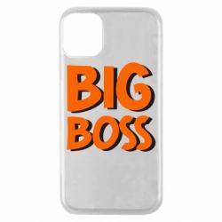 Чехол для iPhone 11 Pro Big Boss