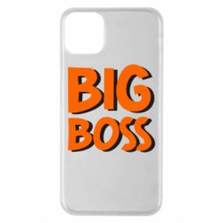 Чехол для iPhone 11 Pro Max Big Boss