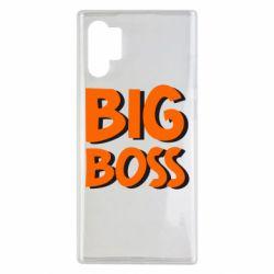 Чехол для Samsung Note 10 Plus Big Boss