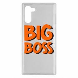 Чехол для Samsung Note 10 Big Boss