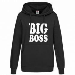 Женская толстовка Big Boss - FatLine