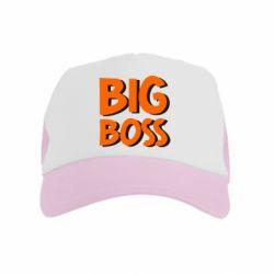 Детская кепка-тракер Big Boss