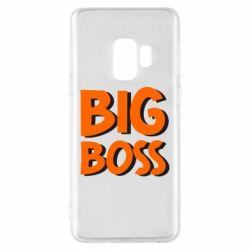 Чехол для Samsung S9 Big Boss