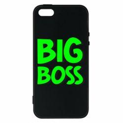 Чехол для iPhone5/5S/SE Big Boss