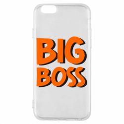 Чехол для iPhone 6/6S Big Boss