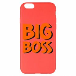 Чехол для iPhone 6 Plus/6S Plus Big Boss