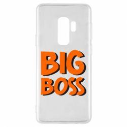 Чехол для Samsung S9+ Big Boss