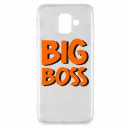 Чехол для Samsung A6 2018 Big Boss