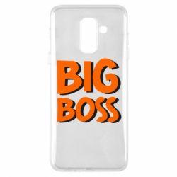 Чехол для Samsung A6+ 2018 Big Boss