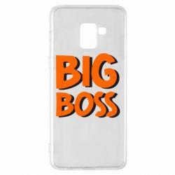 Чехол для Samsung A8+ 2018 Big Boss