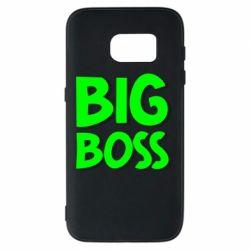 Чехол для Samsung S7 Big Boss