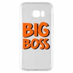 Чехол для Samsung S7 EDGE Big Boss