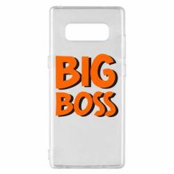 Чехол для Samsung Note 8 Big Boss