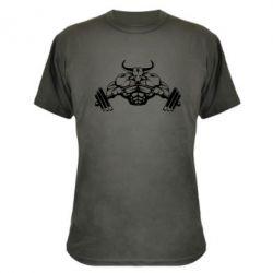 Камуфляжная футболка Big Bull - FatLine