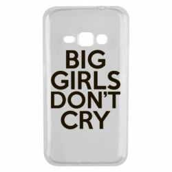 Чехол для Samsung J1 2016 Big girls don't cry - FatLine