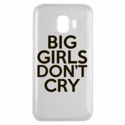 Чехол для Samsung J2 2018 Big girls don't cry - FatLine