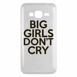 Чехол для Samsung J3 2016 Big girls don't cry - FatLine