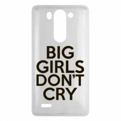 Чехол для LG G3 mini/G3s Big girls don't cry - FatLine