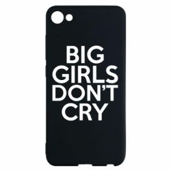 Чехол для Meizu U10 Big girls don't cry - FatLine
