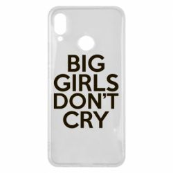 Чехол для Huawei P Smart Plus Big girls don't cry - FatLine