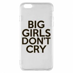 Чехол для iPhone 6 Plus/6S Plus Big girls don't cry - FatLine