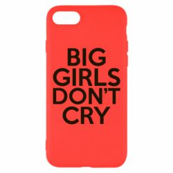 Чехол для iPhone 7 Big girls don't cry - FatLine