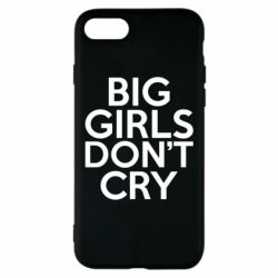 Чехол для iPhone 8 Big girls don't cry - FatLine