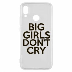 Чехол для Huawei P20 Lite Big girls don't cry - FatLine