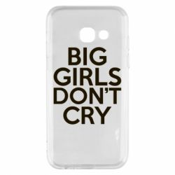 Чехол для Samsung A3 2017 Big girls don't cry - FatLine