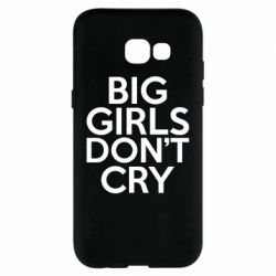 Чехол для Samsung A5 2017 Big girls don't cry - FatLine