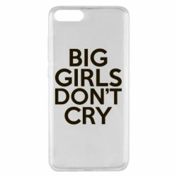 Чехол для Xiaomi Mi Note 3 Big girls don't cry - FatLine