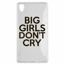 Чехол для Sony Xperia Z1 Big girls don't cry - FatLine