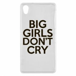 Чехол для Sony Xperia Z2 Big girls don't cry - FatLine