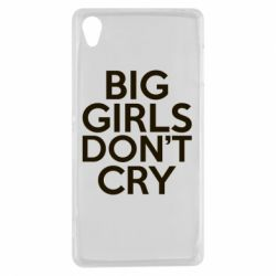 Чехол для Sony Xperia Z3 Big girls don't cry - FatLine