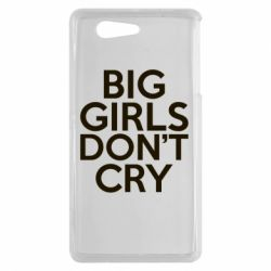 Чехол для Sony Xperia Z3 mini Big girls don't cry - FatLine