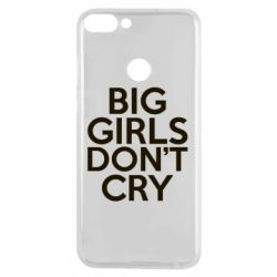 Чехол для Huawei P Smart Big girls don't cry - FatLine