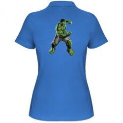 Женская футболка поло Big Hulk - FatLine